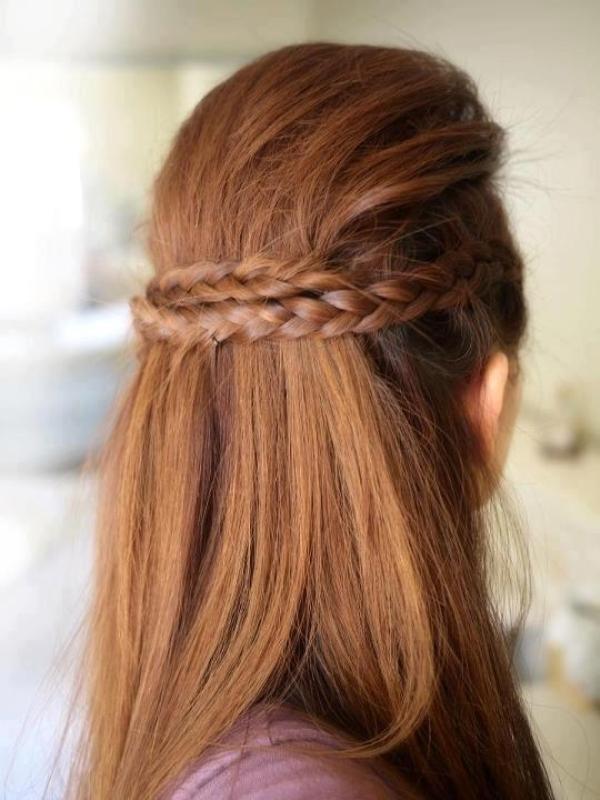 düz saçlılar için hızlı ve pratik saç modelleri