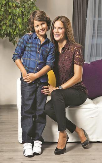 ebru şallının küçük oğlu 8 yaşındaki pasr lenf kanseri