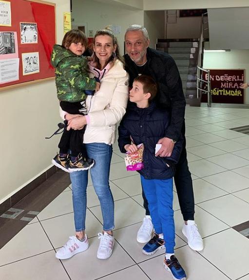 Esra Erol ve Ali Özbir'in çocukları